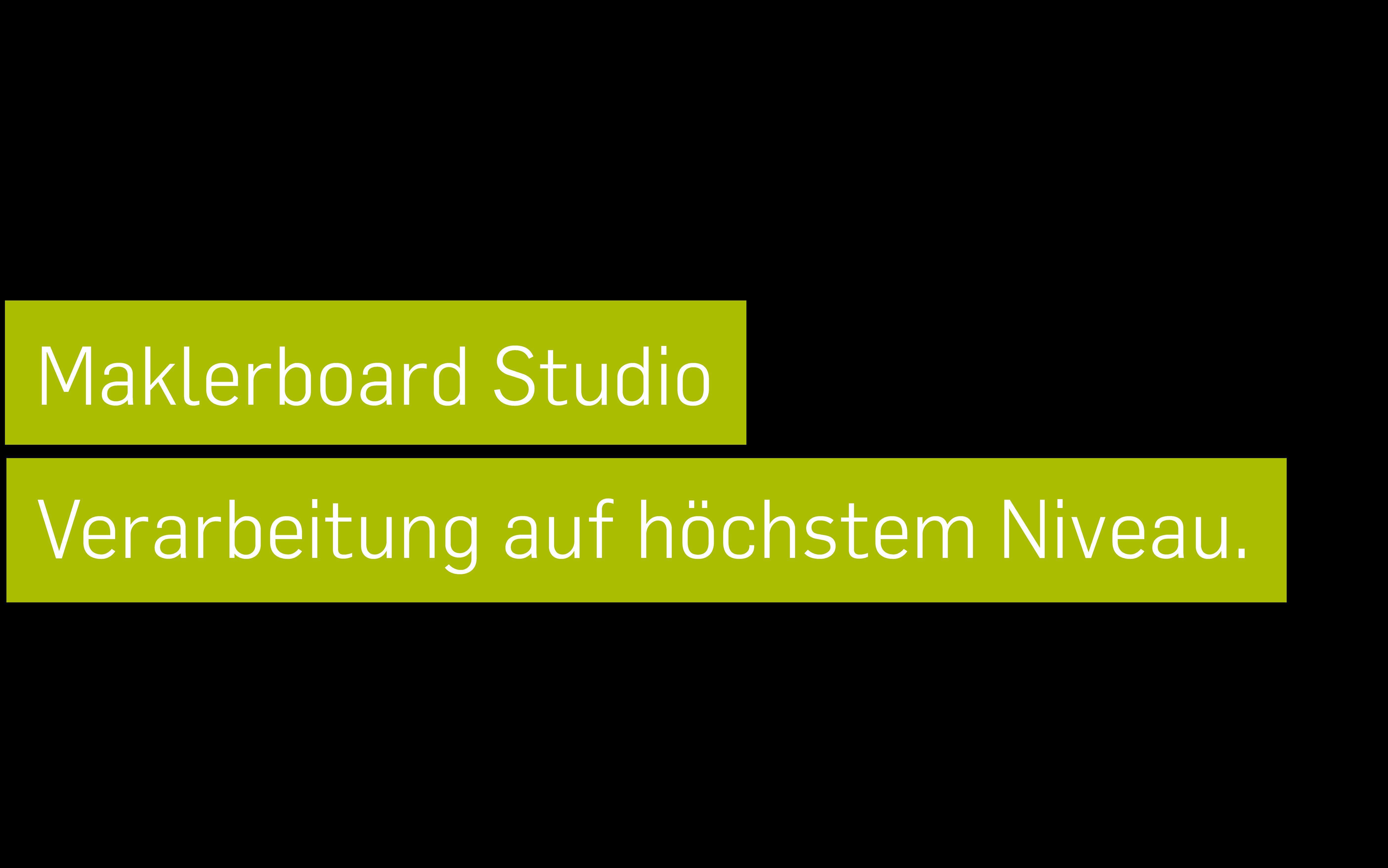 Maklerboard Studio